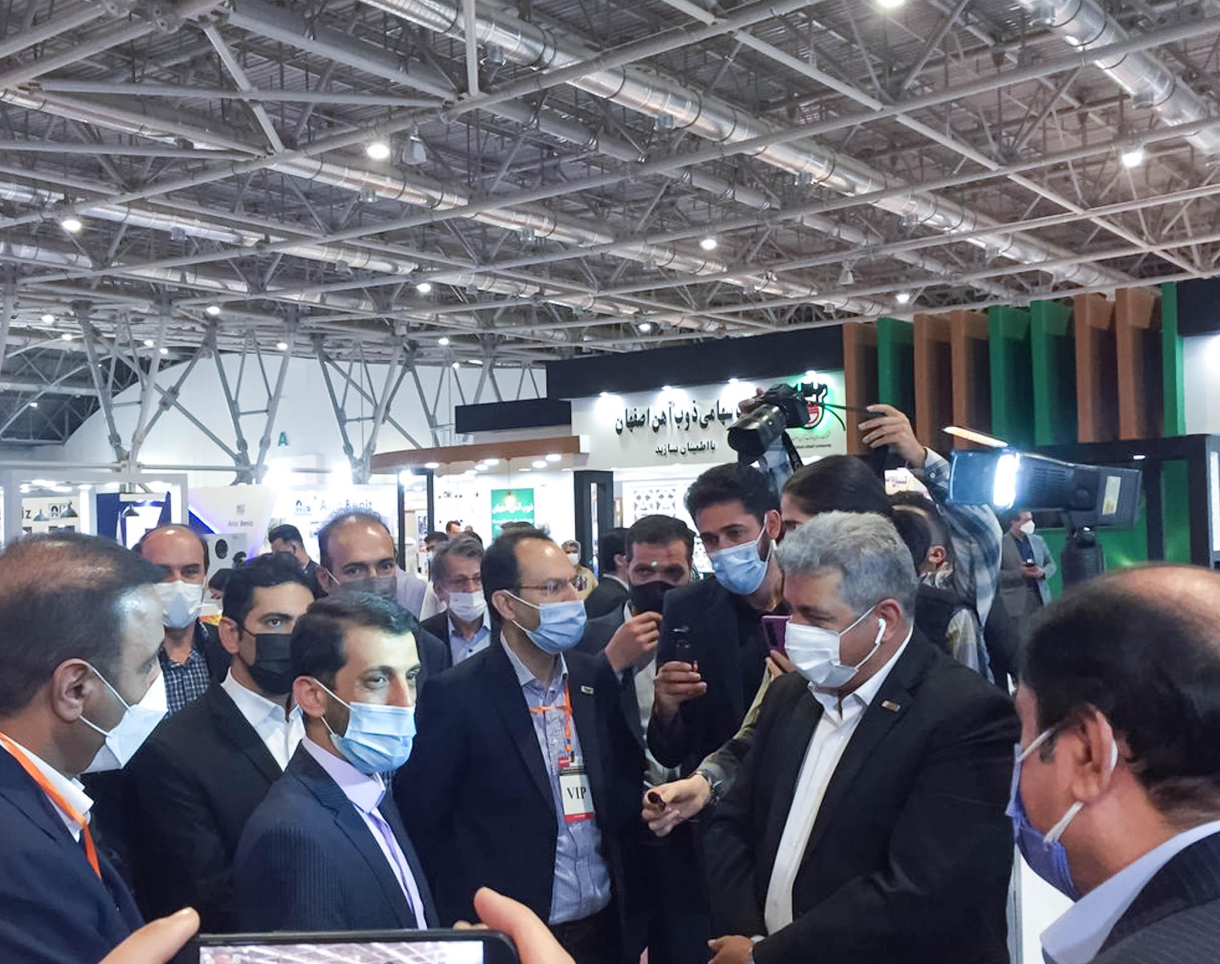 حضور محتمغ صنعتی اسفراین در سیزدهمین نمایشگاه متالورژِی اصفهان۳